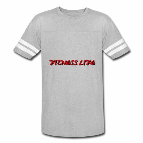 FITNESS LIFE - Vintage Sport T-Shirt