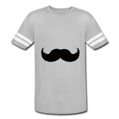 Mustache Tee - Vintage Sport T-Shirt