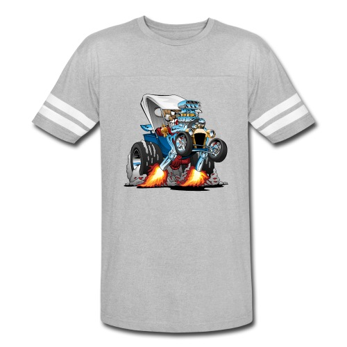 Custom T-bucket Roadster Hotrod Cartoon - Vintage Sport T-Shirt