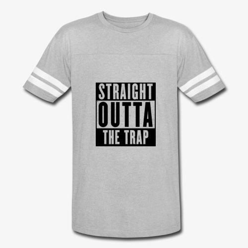 Straight Outta The Trap - Vintage Sport T-Shirt