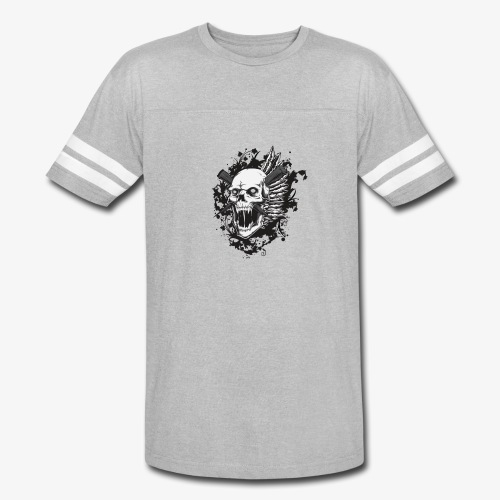 skull royalty drawing - Vintage Sport T-Shirt