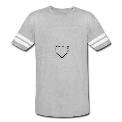 HOMEPLATE PRESS BLACK LOGO - Vintage Sport T-Shirt