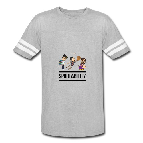 Spurtability Black Text - Vintage Sport T-Shirt