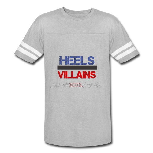 Eyes on the Ring Heels/Villains - Vintage Sport T-Shirt