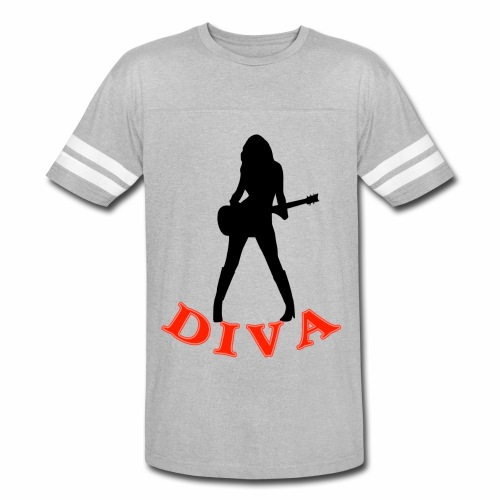 Rock Star Diva - Vintage Sport T-Shirt