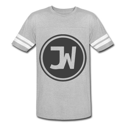 Grey Johannes With Logo - Vintage Sport T-Shirt