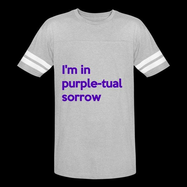 Purple-tual sorrow
