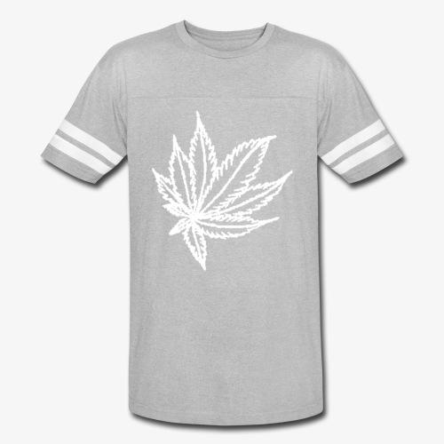 white leaf - Vintage Sport T-Shirt