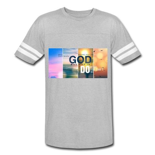 GOD - Vintage Sport T-Shirt