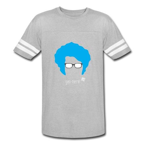 Geo Nerd (him) - Vintage Sport T-Shirt