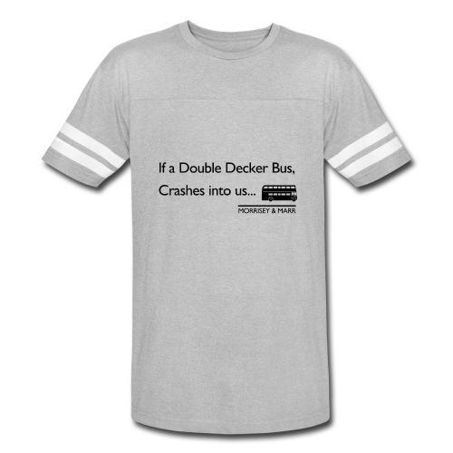 Double Decker Bus - Vintage Sport T-Shirt