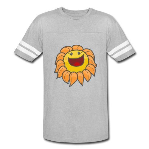 Happy sunflower - Vintage Sport T-Shirt