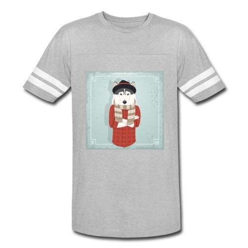 Hispter Dog - Vintage Sport T-Shirt