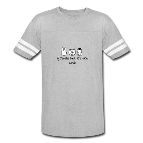SMILE BACK - Vintage Sport T-Shirt