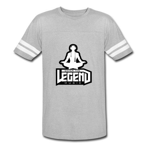 Enter The Legend Music B/W - Vintage Sport T-Shirt