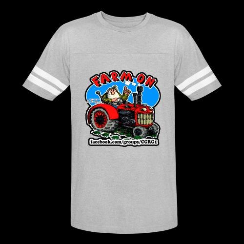 Mr Natural Farm On - Vintage Sport T-Shirt