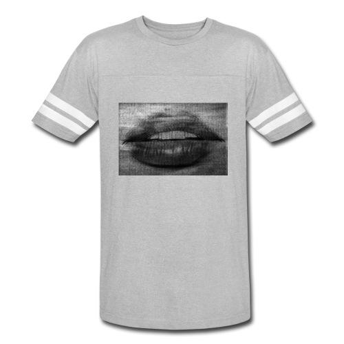 Blurry Lips - Vintage Sport T-Shirt
