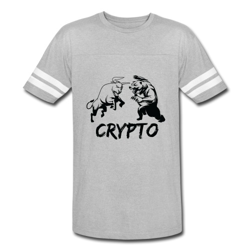 CryptoBattle Black - Vintage Sport T-Shirt