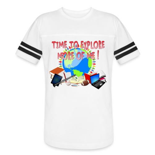 Time to Explore More of Me ! BACK TO SCHOOL - Vintage Sport T-Shirt