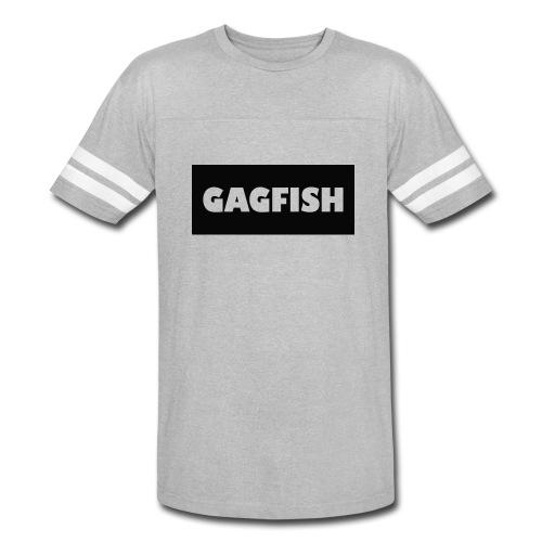 GAGFISH BLACK LOGO - Vintage Sport T-Shirt