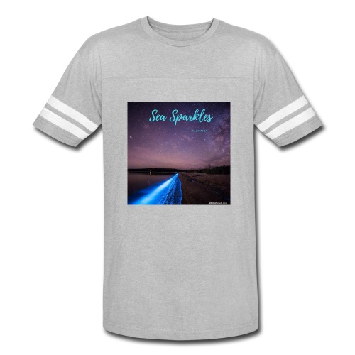 Tasmanian Sea Sparkles - Vintage Sport T-Shirt