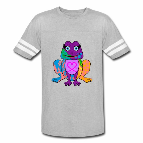 I heart froggy - Vintage Sport T-Shirt