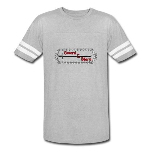 Sword & Glory Logo - Vintage Sport T-Shirt