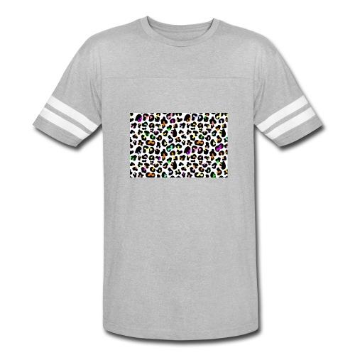 Colorful Animal Print - Vintage Sport T-Shirt