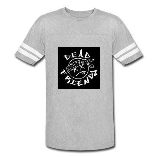 D.E.A.D FRIENDZ Records - Vintage Sport T-Shirt