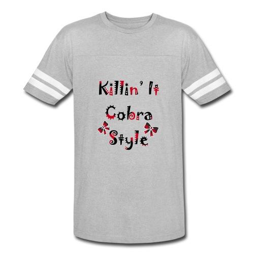 Killin' It Cobra - Vintage Sport T-Shirt