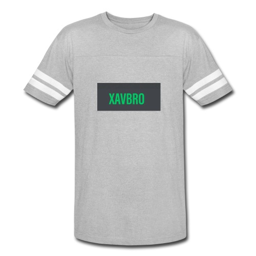xavbro green logo - Vintage Sport T-Shirt