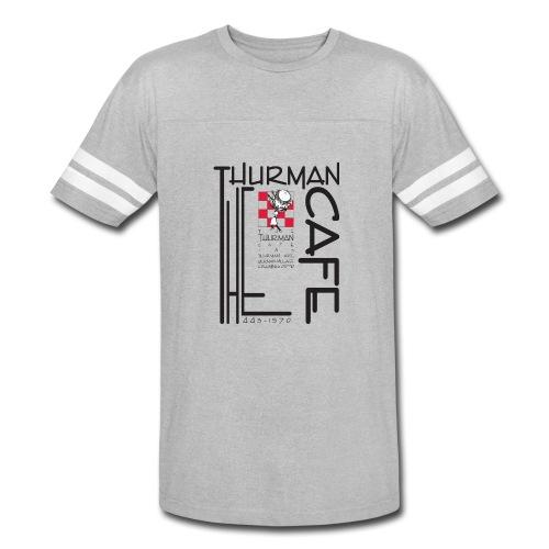 Thurman Cafe Traditional Logo - Vintage Sport T-Shirt