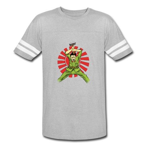 The Asian Warrior - Vintage Sport T-Shirt