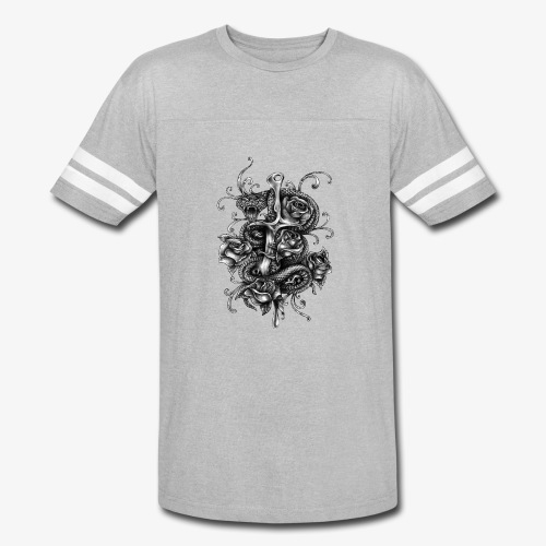 Dagger And Snake - Vintage Sport T-Shirt