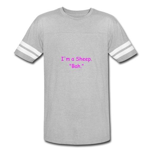 I'm a Sheep. Bah. - Vintage Sport T-Shirt