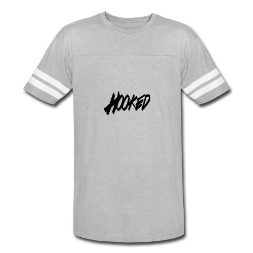 Hooked black logo - Vintage Sport T-Shirt