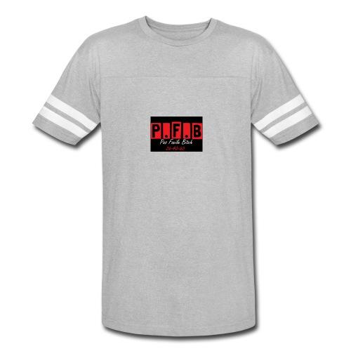 Pas Facile Bitch - Vintage Sport T-Shirt