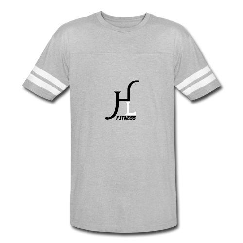 HIIT Life Fitness logo white - Vintage Sport T-Shirt