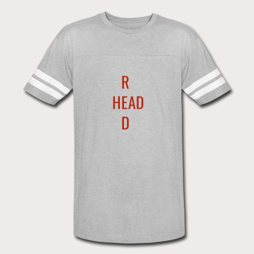 T Red Head - Vintage Sport T-Shirt