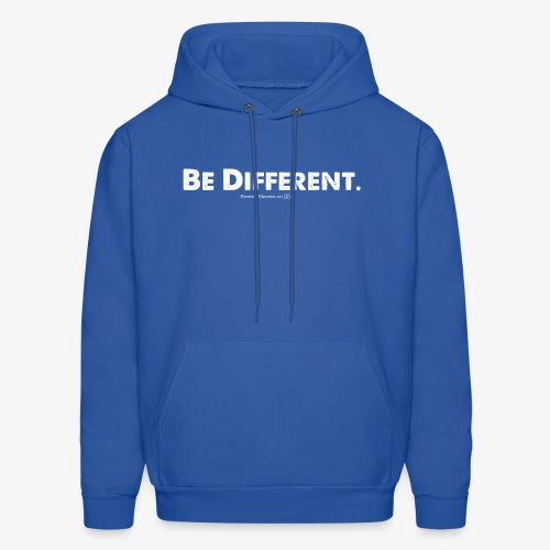 Be Different // Forrest Stevens Official merch. - Men's Hoodie
