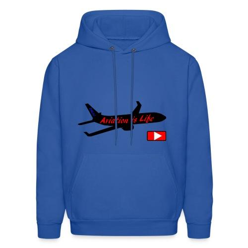 Aviation is life - Men's Hoodie