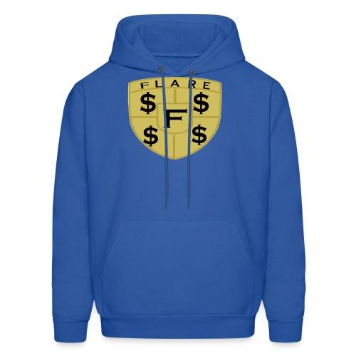 FLARE Shield Logo - Men's Hoodie