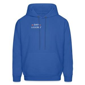LUCKYBOY N SHAY GRY - Men's Hoodie