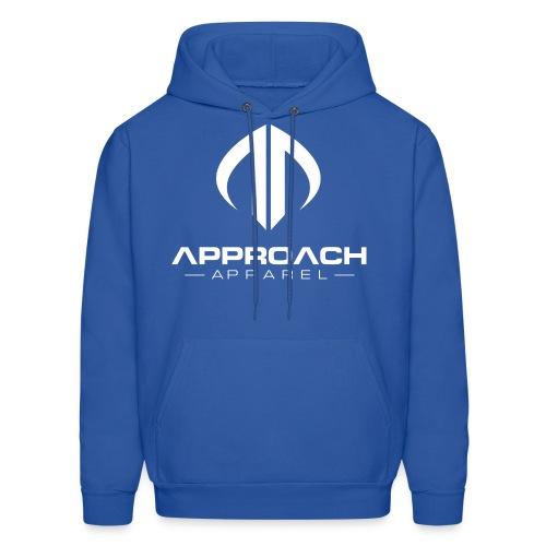 Approach Apparel Athletic Hoodie Shirt- White Logo - Men's Hoodie
