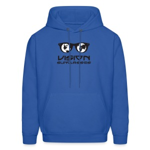 Vision Sunglasses White/Black - Men's Hoodie