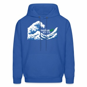 EvolveAll Riding The Wave - Men's Hoodie
