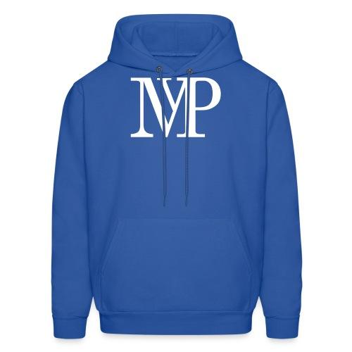 (White) Mvp Logo - Men's Hoodie