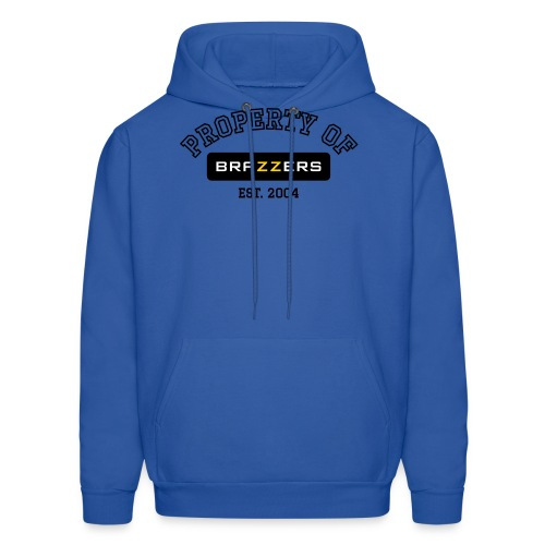 Property of Brazzers logo - Men's Hoodie