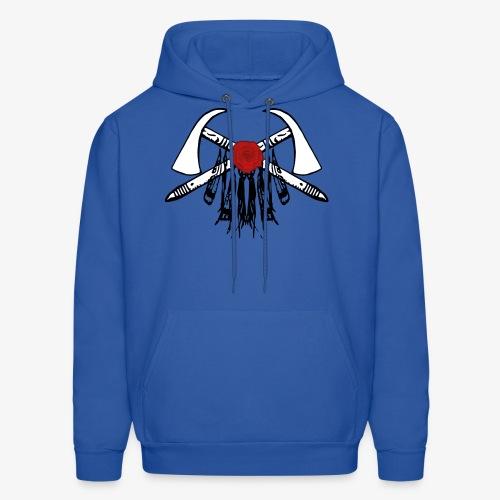 Komankhe Klan Logo T-Shirt (WHITE TOMOHAWKS) - Men's Hoodie