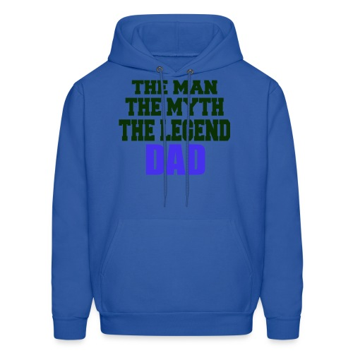 Father's Day the man the myth the legend - Men's Hoodie